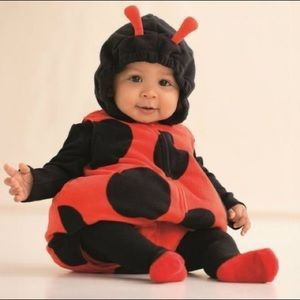 CARTER'S Lady Bug Costume with attached hood